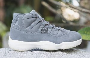 Air Jordan 11 Grey Suede 914433-003