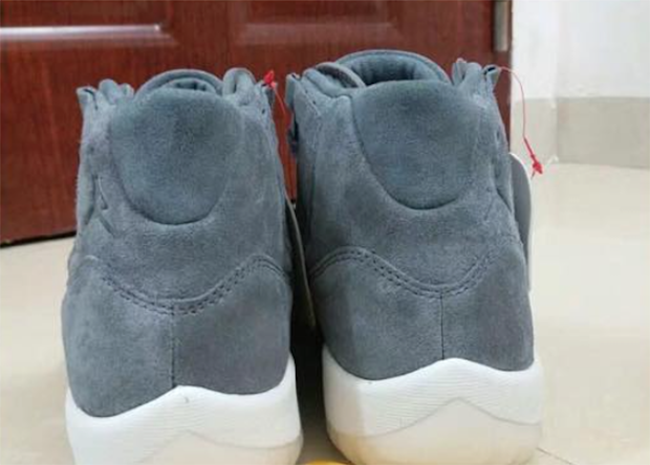 Air Jordan 11 PRM Suede Grey