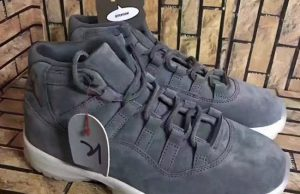 Air Jordan 11 Suede Grey Sail