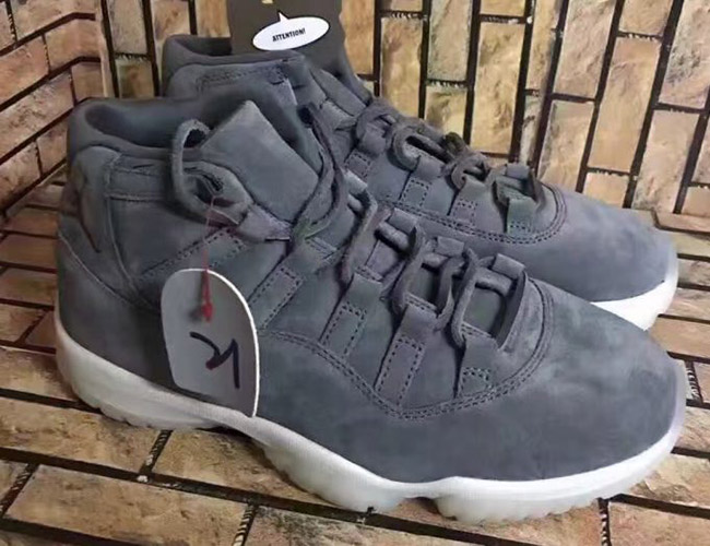 Cheap Air Jordan 11 Retro Black/Gamma Blue Black Varsity Maize Grade School's Shoe
