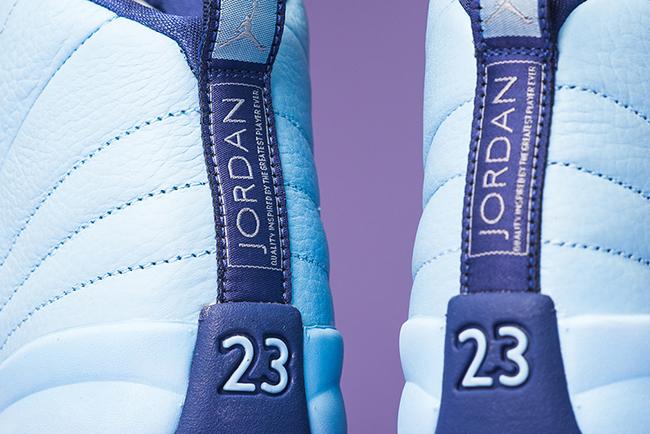 Air Jordan 12 Blue Cap Purple Dust Release