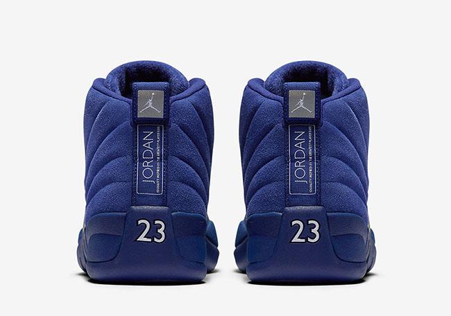 Air Jordan 12 Blue Suede Deep Royal