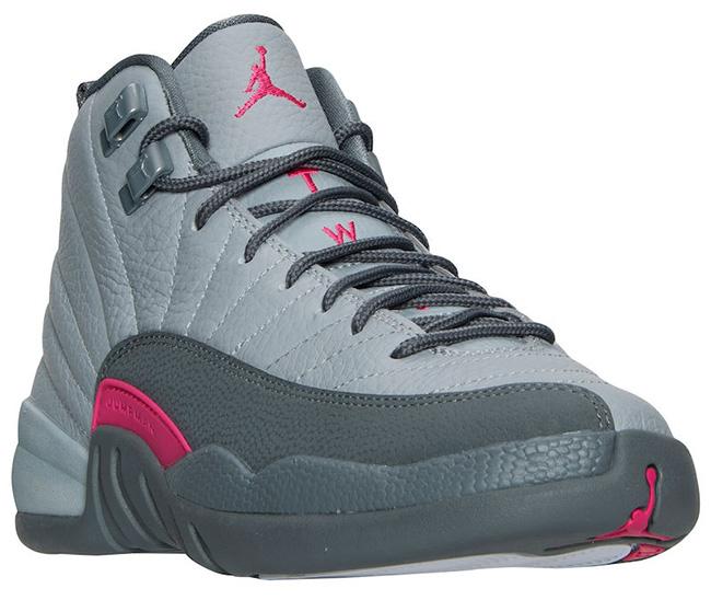 Air Jordan 12 Grey Pink