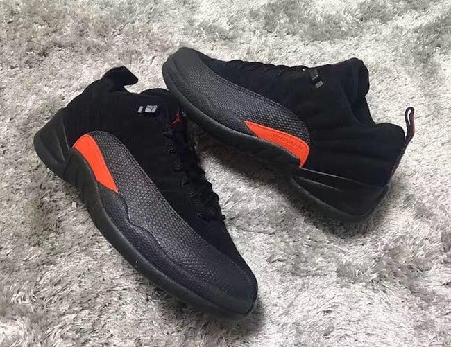 Air Jordan 12 Low Max Orange 2017