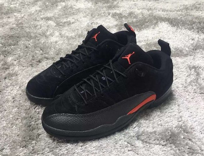 Air Jordan 12 Low Max Orange 2017