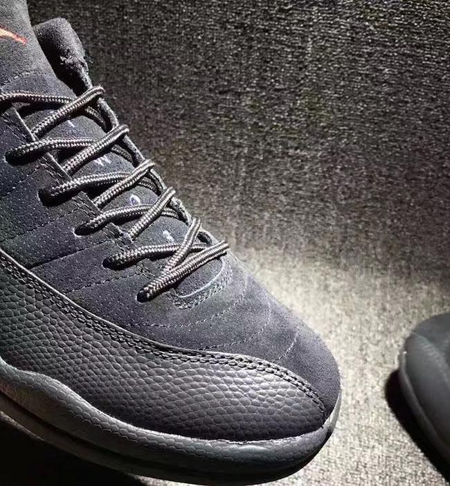 Air Jordan 12 Bajo Negro NSRckr