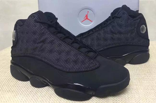 Air Jordan 13 Black Cat OG Box