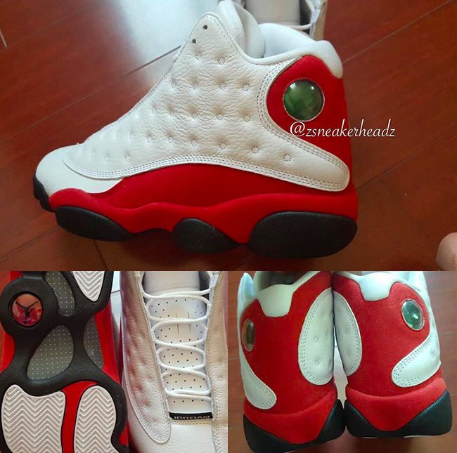 64f70fec5a5 Air Jordan 13 Chicago White Red 2017 Release Info | SneakerFiles