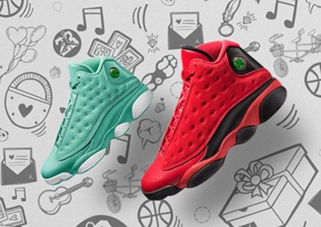 Air Jordan 13 What Is Love Pack