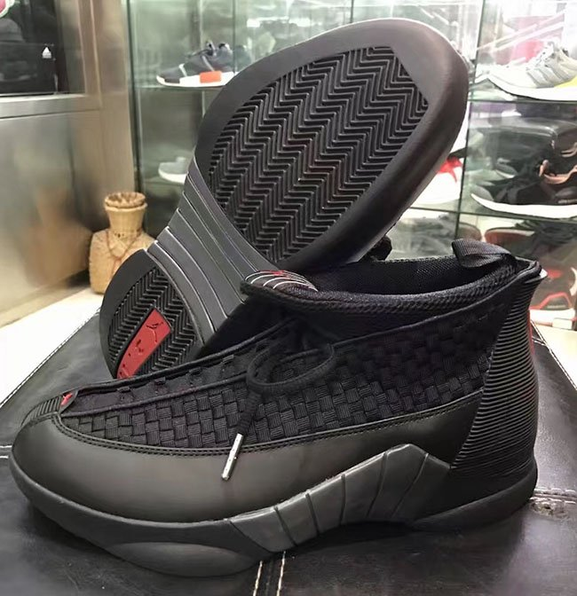 9aeea4206a7f Air Jordan 15 Stealth Black Varsity Red 2017