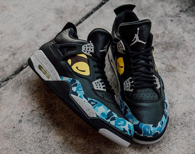 Air Jordan 4 Bape Custom