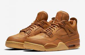 Air Jordan 4 Ginger Wheat