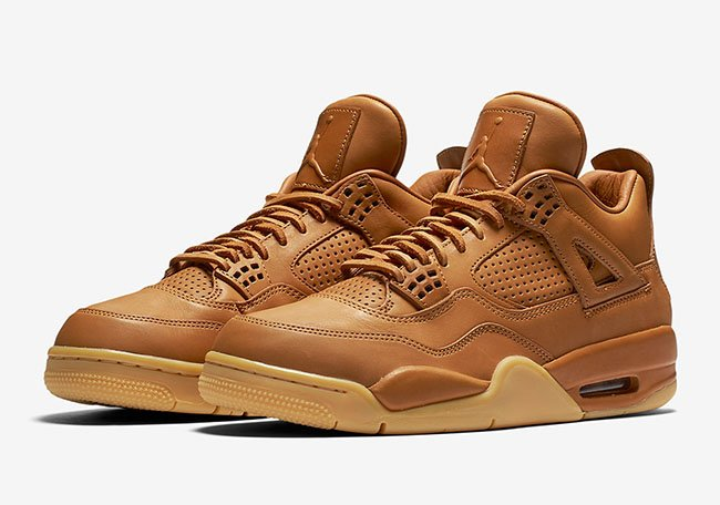 Air Jordan 4 Ginger Wheat