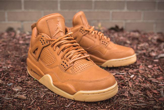 Air Jordan 4 Retro Premium Ginger Gum Yellow Release