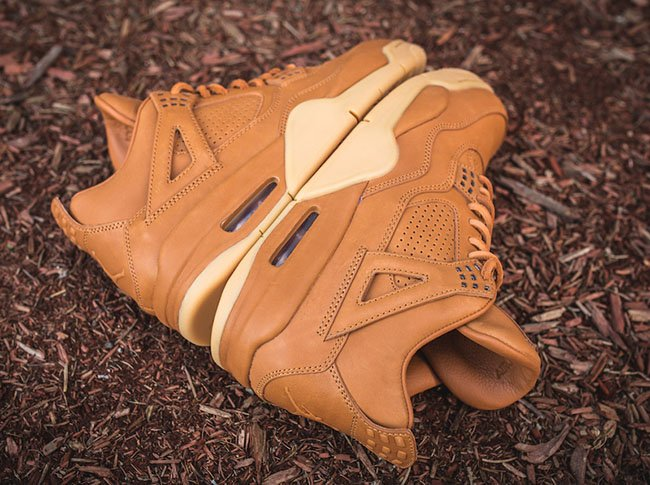 Air Jordan 4 Retro Premium Ginger Gum Yellow Release