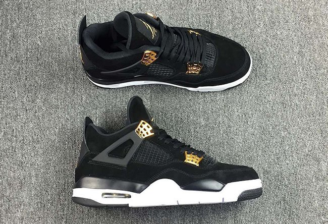 cheap for discount abe1c a95a1 ... spain air jordan 4 royalty black metallic gold 2017 18b6a 6d51c