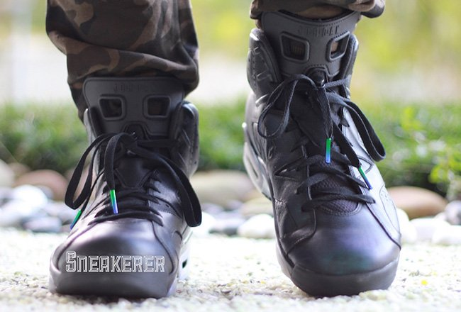 Air Jordan 6 Chameleon On Feet
