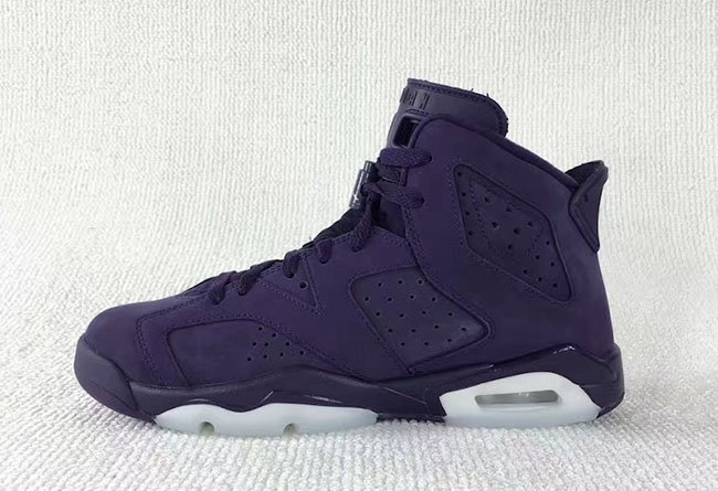 Air Jordan 6 GS Dark Purple