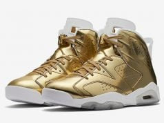 Air Jordan 6 Pinnacle Gold Championship