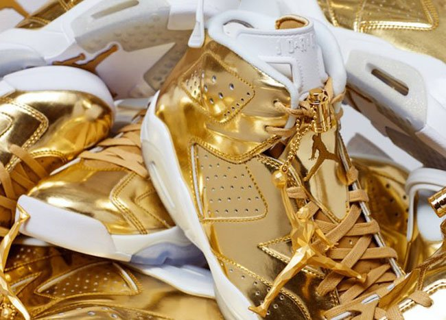 Air Jordan 6 Pinnacle Gold Release
