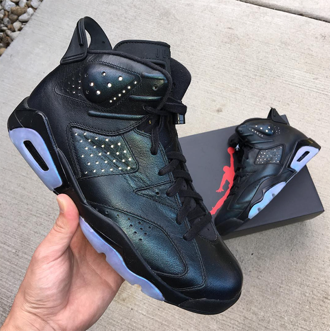Air Jordan 6 Retro Chameleon Iridescent