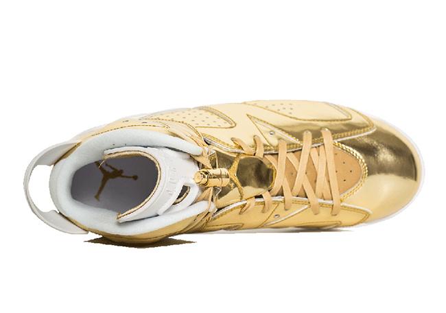 new product d0c1e b48c1 Air Jordan 6 Pinnacle Metallic Gold   SneakerFiles