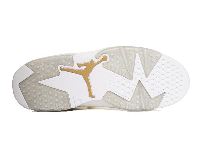 Air Jordan 6 Retro Pinnacle Metallic Gold Hangtag