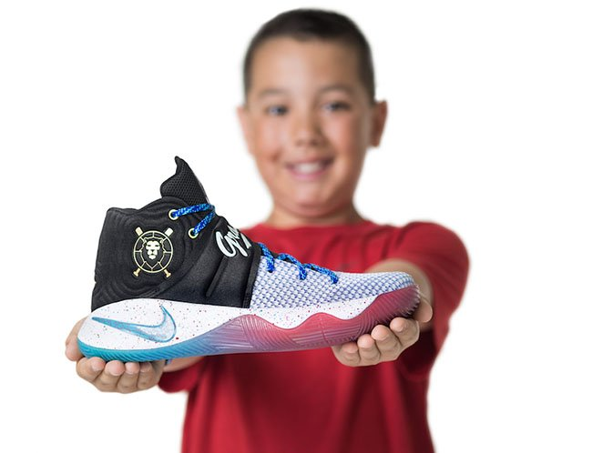 Andy Grass Nike Kyrie 2 Doernbecher