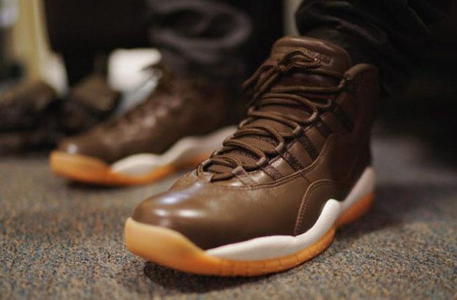 e4fd5524a7b7 Anthony Hamilton Chocolate Air Jordan 10