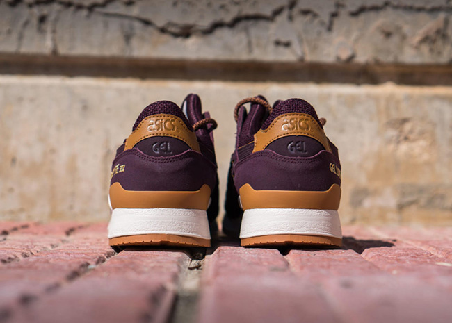 Asics Gel Lyte III Rioja Red