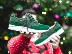 Asics Gel Lyte V Christmas Dark Green