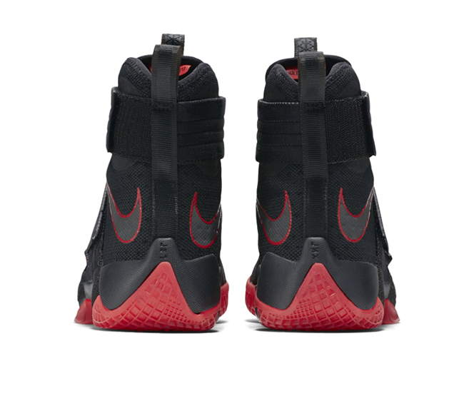 Bred Nike LeBron Soldier 10