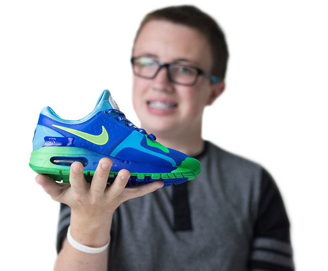 Chase Swearingen Nike Air Max Zero Doernbecher