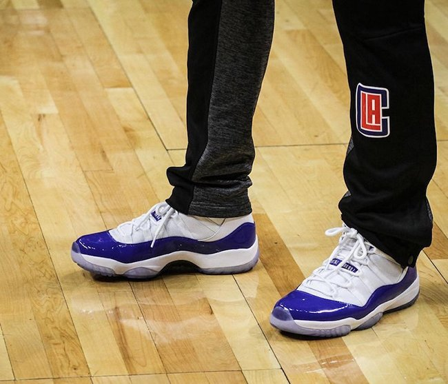 Chris Paul Air Jordan 11 Clippers PE