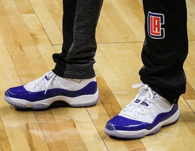 new style 0d51b 743c1 Chris Paul Air Jordan 11 Clippers PE | SneakerFiles