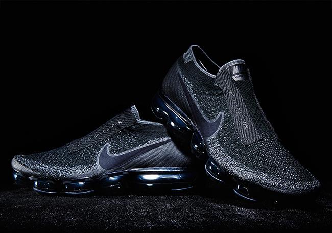 Comme Des Garcons x Nike VaporMax Black