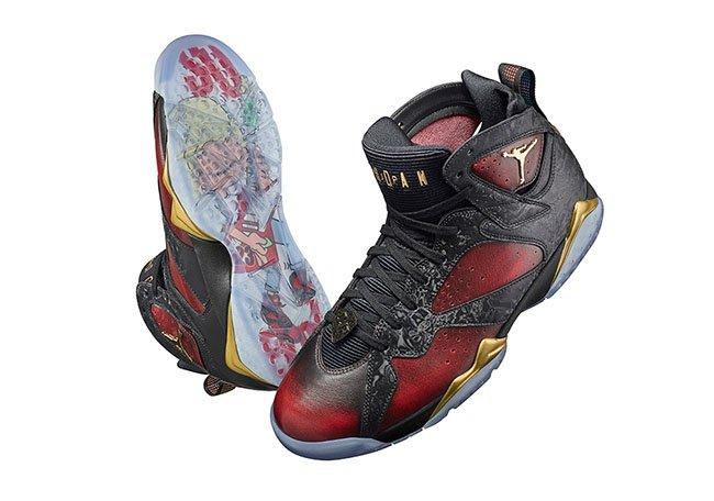 Damien Phillips Air Jordan 7 Doernbecher