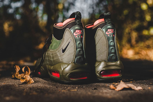 Dark Loden Nike Air Max 95 Sneakerboot