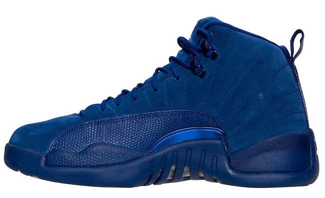 Deep Royal Blue Air Jordan 12 Premium Suede
