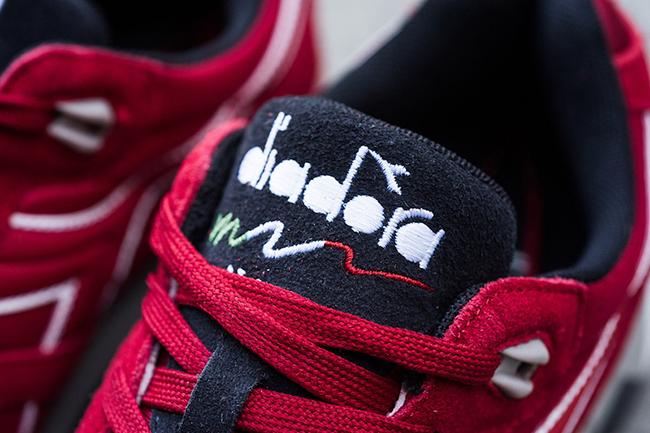 Diadora N9000 Double L Chili Pepper Red
