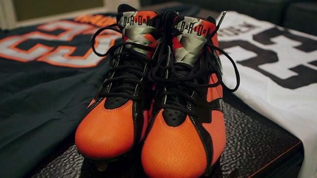 Joe Haden Air Jordan 7 Cleat Giveaway