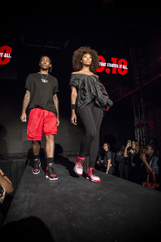 Jordan Brand 32 South State Fashion Show