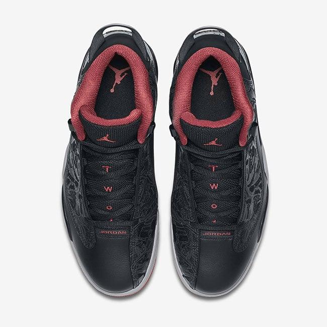 Jordan Dub Zero Bred Black Red
