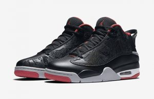 Jordan Dub Zero Bred Black Red