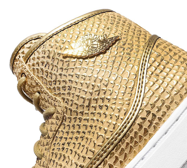 Jordan Jasmine Premium Metallic Gold