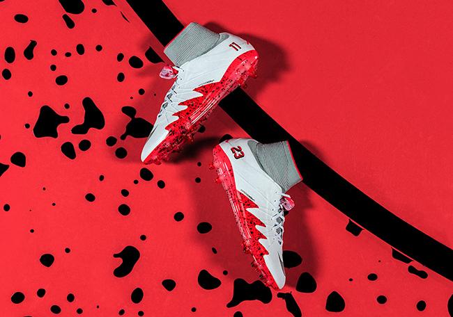 Jordan Neymar Fire Red Collection