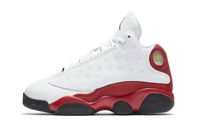Kids Air Jordan 13 True Red Chicago GS