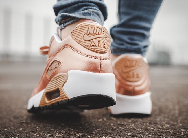 Metallic Bronze Nike Air Max 90 GS