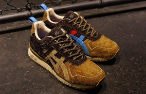 mita sneakers x Asics GT-II Squirrel