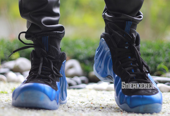 new arrival 1e19f 27c41 Nike Air Foamposite One XX Royal On Feet